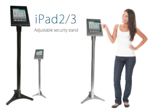 iPad Adjustable Security Stand