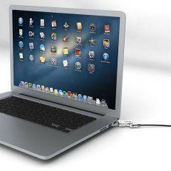 Maclocks MacBook Pro Retina Bracket Lock with Wedge world's slimmest security cabe lock!