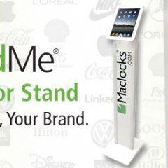 Maclocks BrandMe iPad Kiosk iPad floor stand