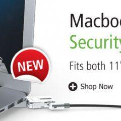 """Maclocks MacBook Air lock and bracket kit 11"""" and 13"""""""