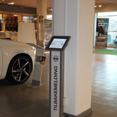 Maclocks iPad Floor stand for Volvo