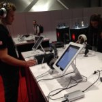 Maclocks debuts Slide iPad POS Stand and MediCart iPad Workstation
