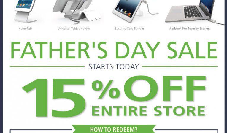 fathersday, promotion, sale, maclocks, save, ipad, ipad enclosure, tablet