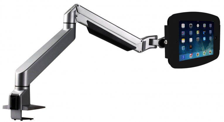 maclocks, reach, arm, articulating arm, ipad stand, ipad display, display solution, ipad kiosk