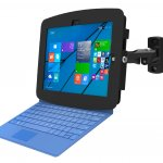maclocks, lock, enclosure, microsoft, surface, muscrosoft surface, tablet, pro 3, swing arm, arm, swing