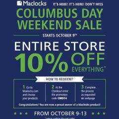 maclocks, compulocks, mac, lock, locks, laptop lock, columbus day sale, sale, columbus sale, weekend sale, savings, tablet, tab, ipad, apple, samsung, surface,