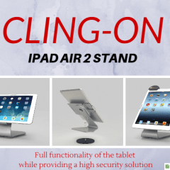 maclocks, lock, ipad air 2, ipad, air, ipad air, air 2, cling, lock, locks, stand, security stand, security, POS