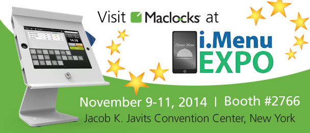 maclocks, imenu, IHMRS, expo, exposition, exhibition, display, stand, ipad, tablet, tablets, maclock, hovertab