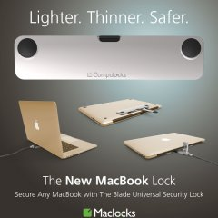 maclocks, lock, mac, apple, macbook, new macbook, macbook lock