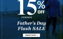 Father's Day Sale - 15% off!