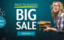 The BIG Back to School Sale