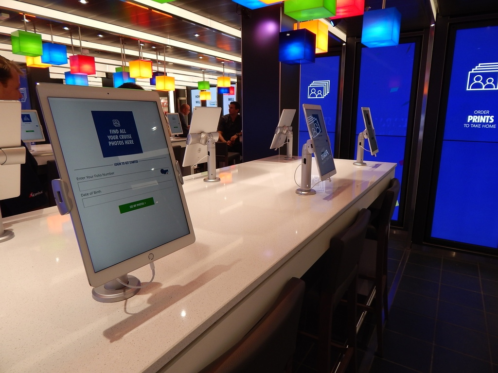 carnival cruise line outfitted with maclocks kiosks maclocks com