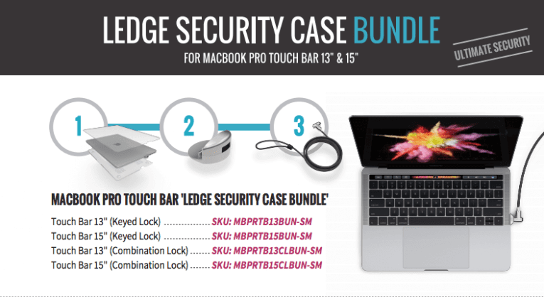 Ultimate Security for MacBook Pro Touch Bar 1