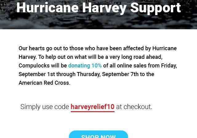 Hurricane Harvey Relief ?