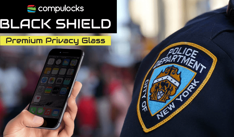 BlackShield Privacy Glass Necessary for Law Enforcement iPhone Deployment 2