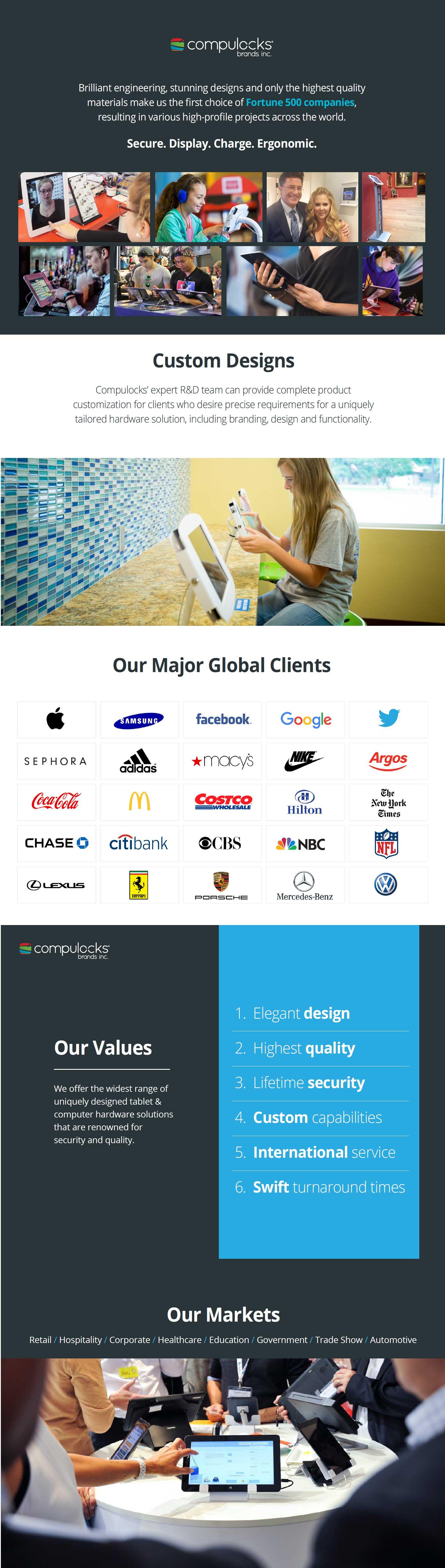 Compulocks Brands Inc