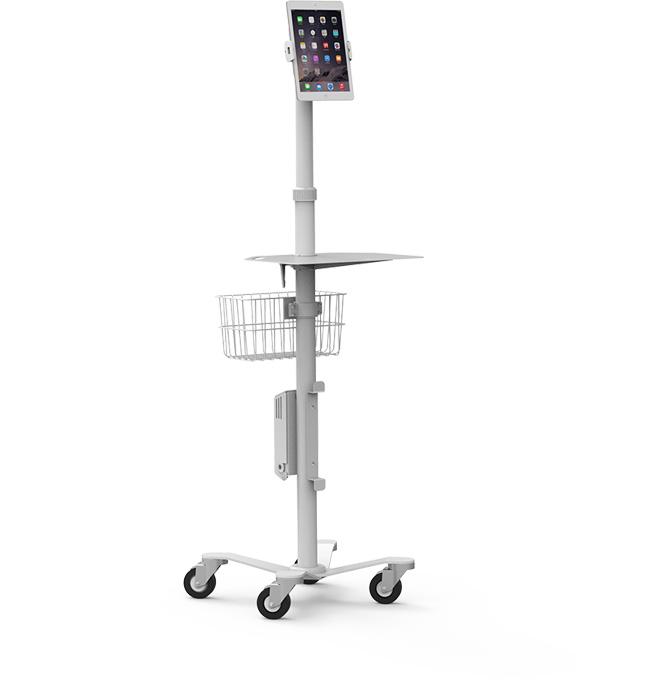 View Medical Rolling kiosk >>